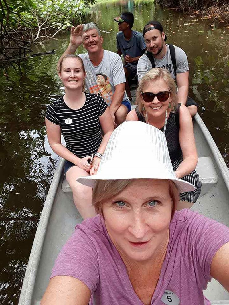Canoe Ride Sarah