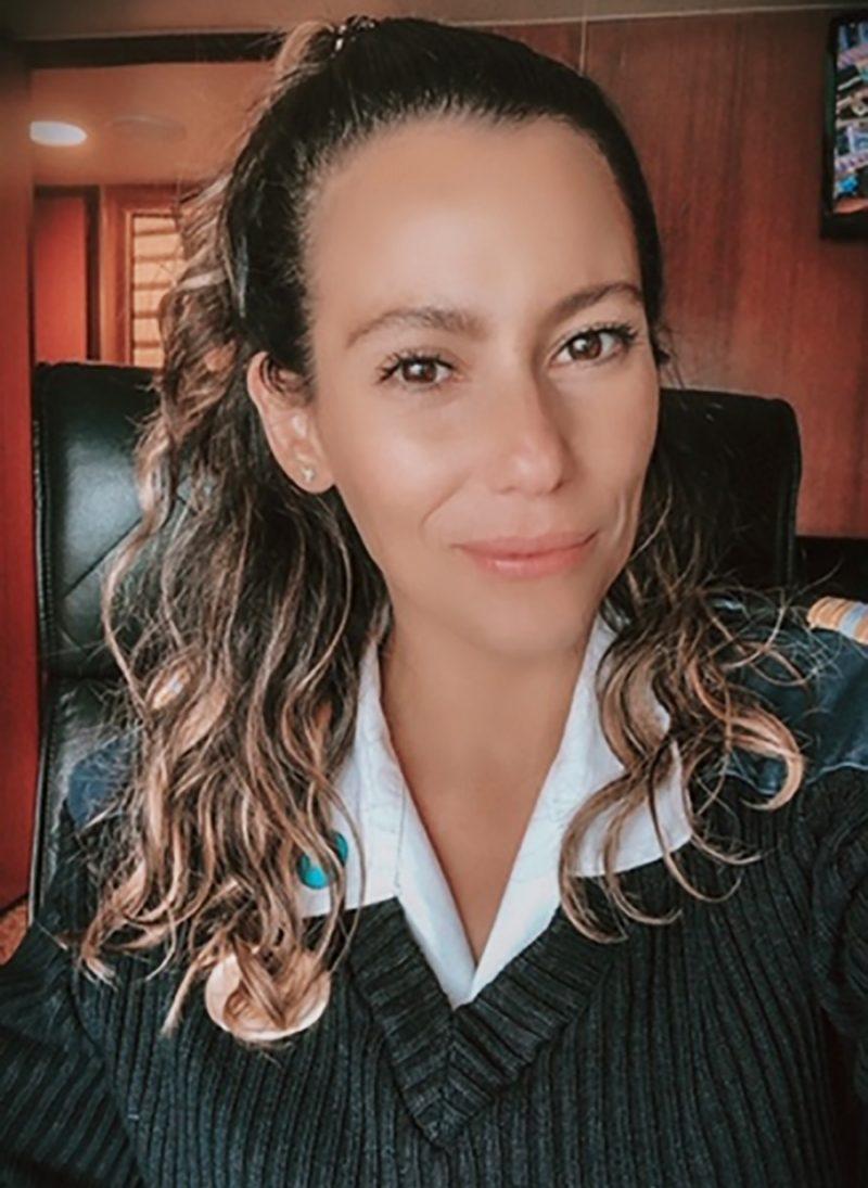 Crew member Mayela