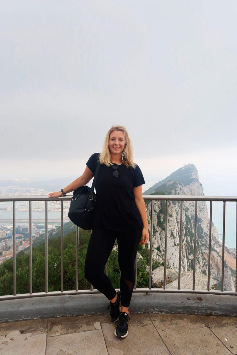 Sophie Davis in Gibraltar