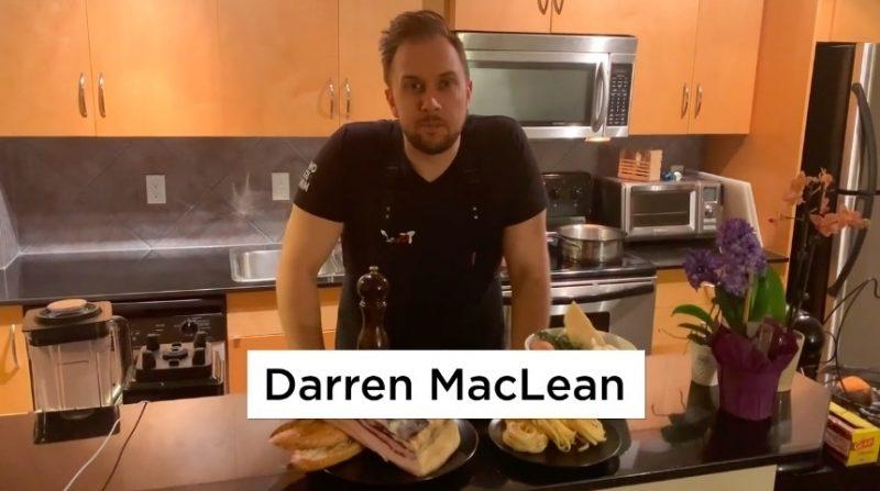 Darren MacLean Princess guest chef