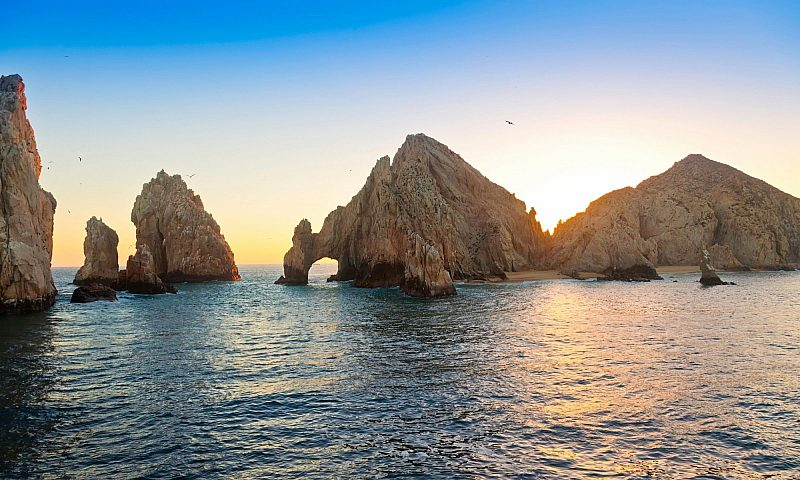 Sunset at Cabo San Lucas, Mexico
