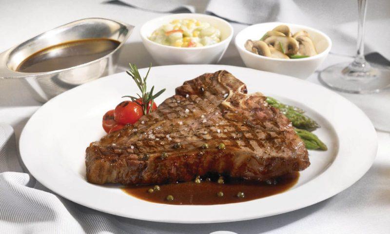 Crown Grill steak