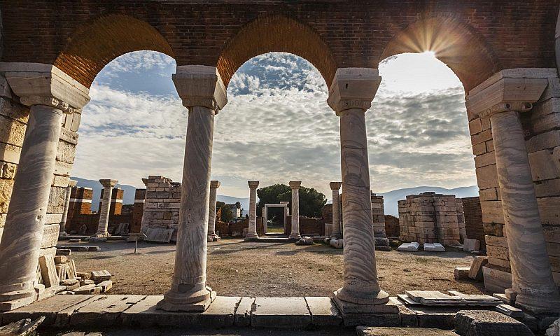 Tomb Of Saint John And Saint John's Basilica, Ephesus, Turkey