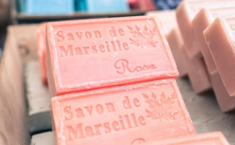 Bar of soap in Marseilles