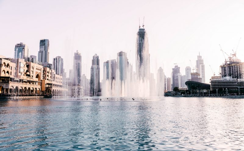 Dubai Mall and Fountain