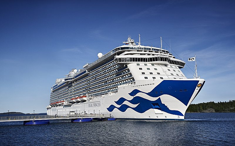 Regal Princess in Stockholm