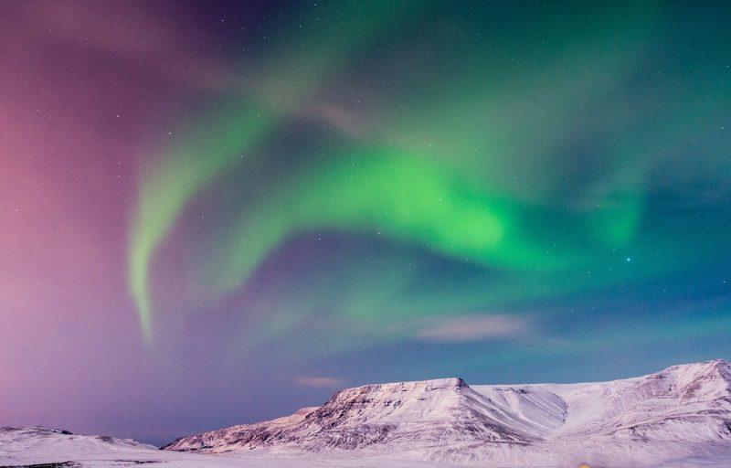 Iceland Reykjavik Northern Lights