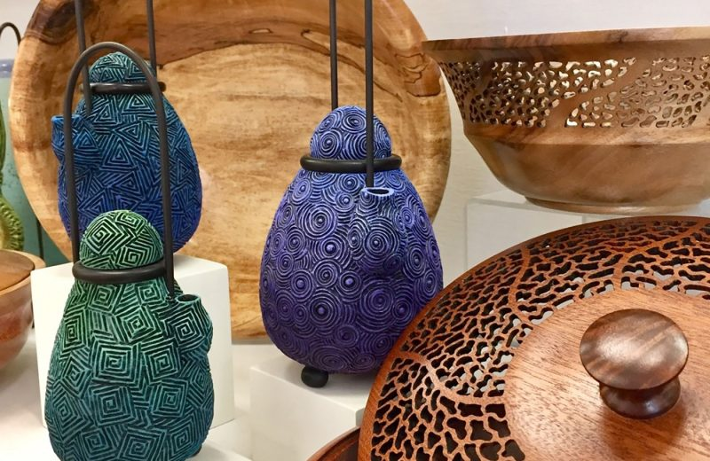 Selection ceramics at Maine Craft Portland