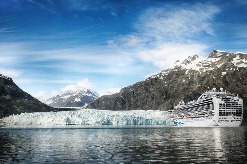 Fjords in Glacier Bay, Alaska
