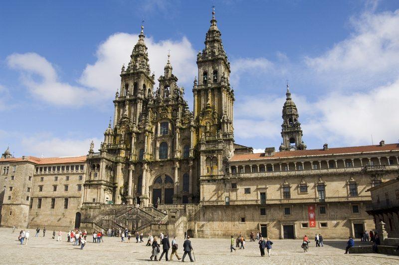 Santiago Cathedral on the Plaza do Obradoiro