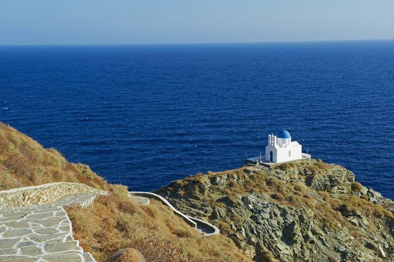 The church of Seven Martyrs, Kastro, Sifnos