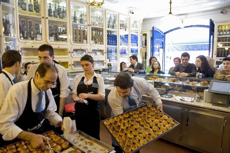 pastéis de belém in lisbon