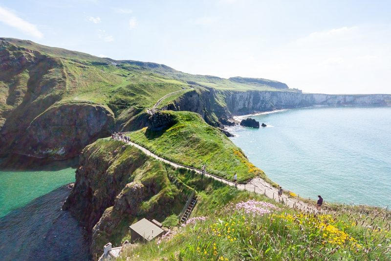 Northern Ireland's Antrim Coast is a designated 'Area of Outstanding Natural Beauty'