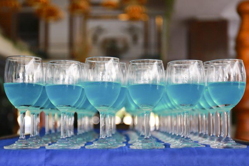 Blue Gin Cocktails