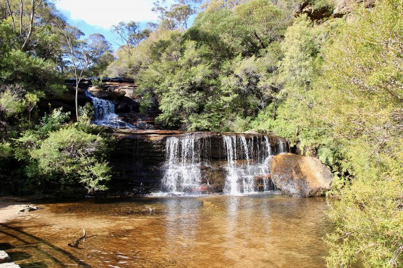 Blue Mountain Waterfall, NSW, Sydney