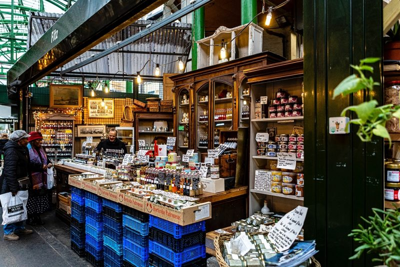 Borough Market stall