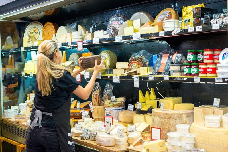 Cheese shop in Adelaide
