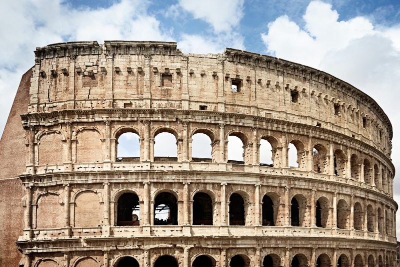Exterior of Colliseum Rome