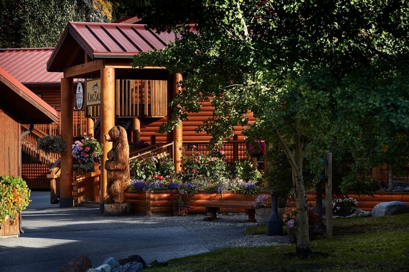 Entrace to Denali Wilderness Lodge