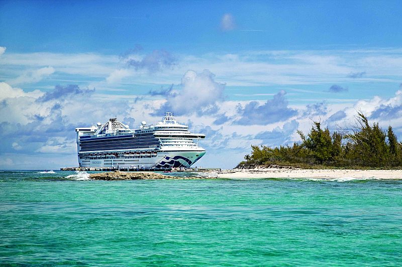 Caribbean Princess in Grand Turk