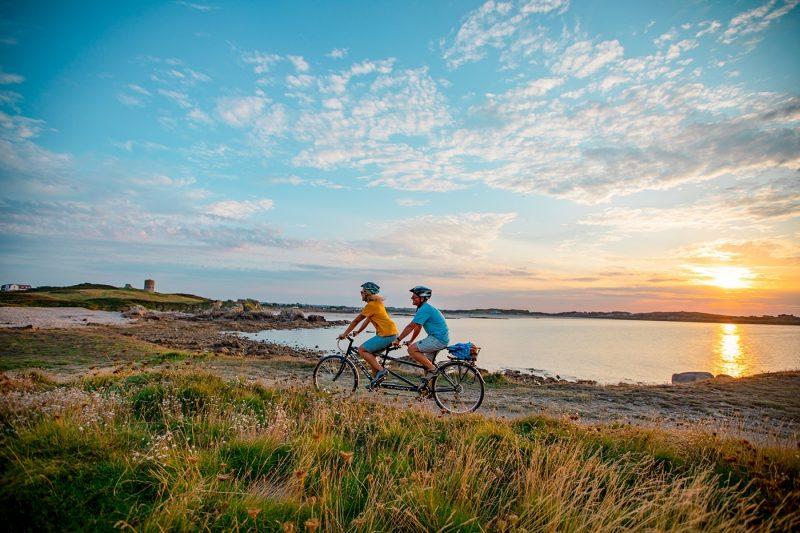 Guernsey Sunset Bike Ride