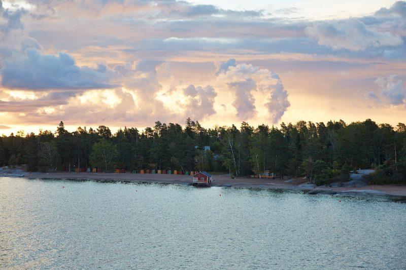 Helsinki, Finland coastline