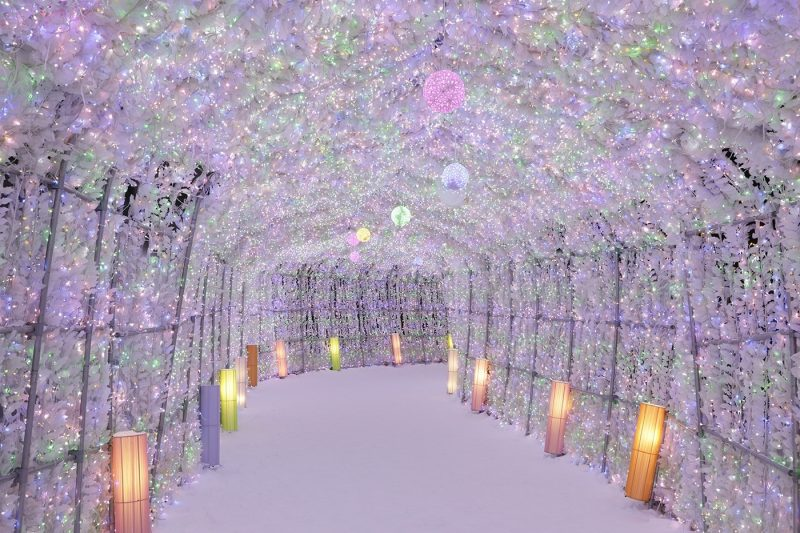 Japan Winter Illuminations in Hokkaido