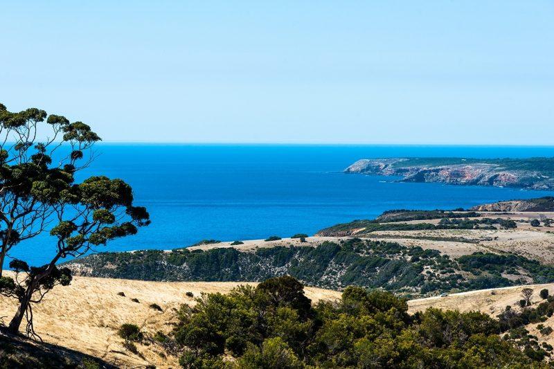 Sea views at Kangaroo Island