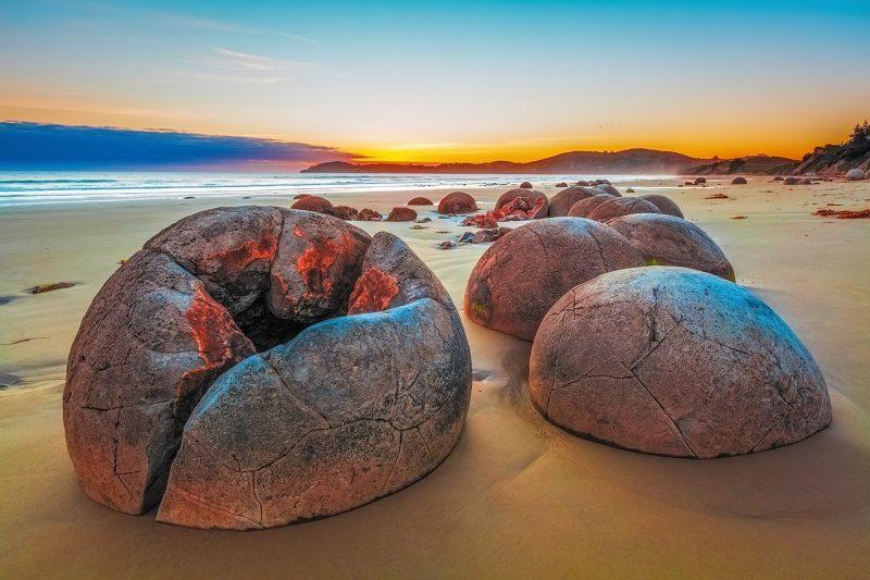 Koekohe Beach Boulders