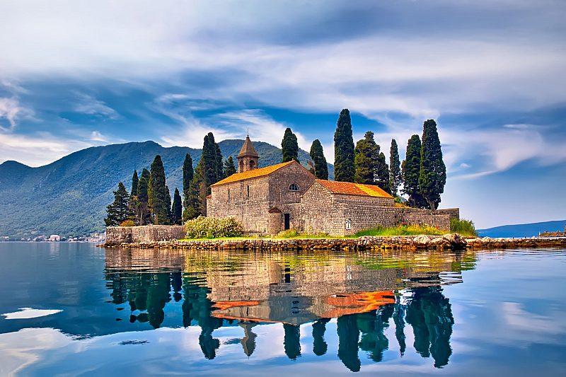 St George Island in Montenegro