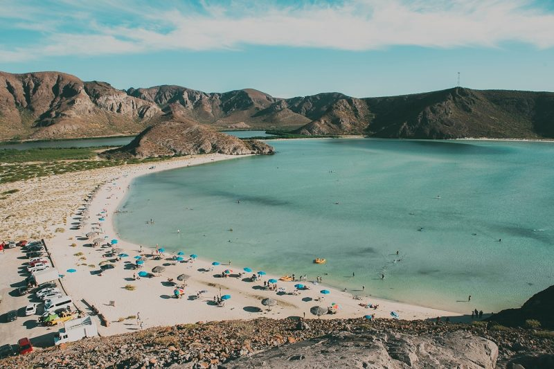Beach in La Paz