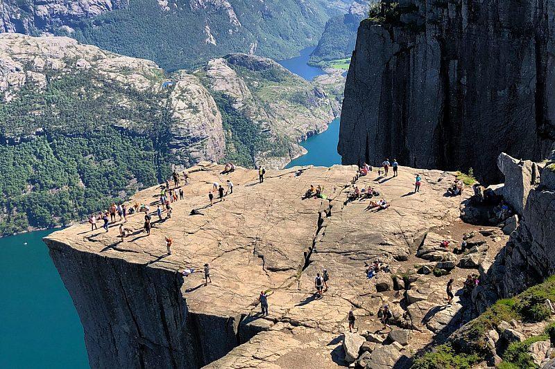 Preikestolen near Stavanger in Norway Abdul Bakar