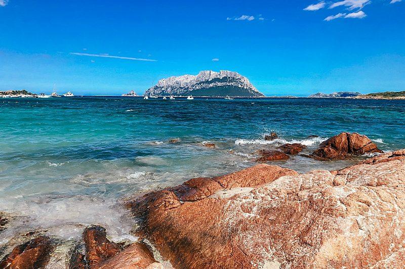 Lazzaretto beach in Alghero, Sardinia