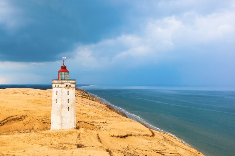 Rabjerg Mile Denmark lighthouse