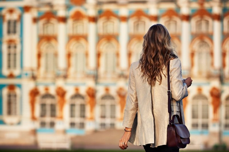 St Petersburg Russia exploring