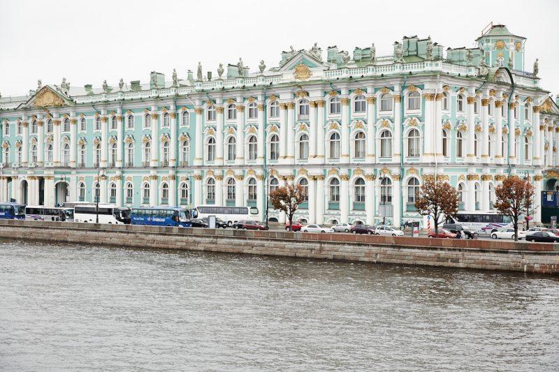 St Petersburg water