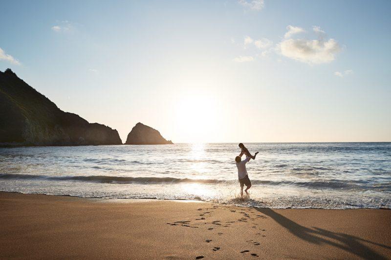 Sunny beach Chile