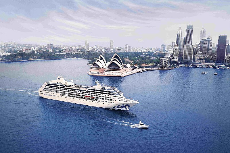 Pacific Princess in Sydney
