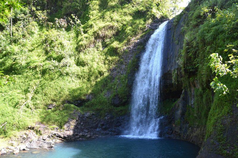 Waterfall in Tahiti