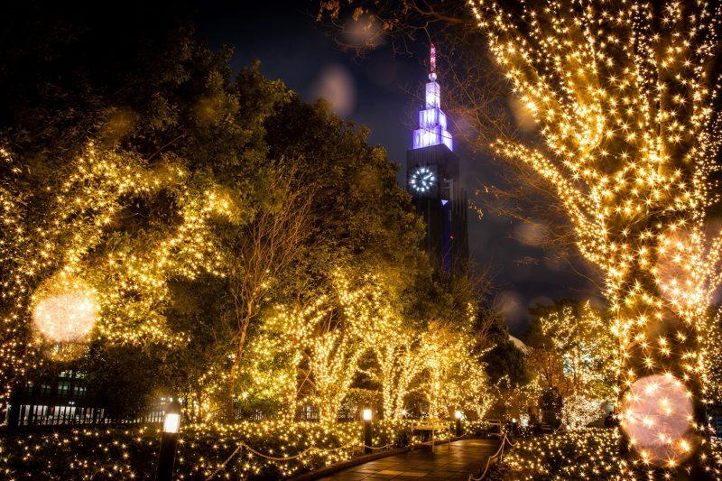 Winter lights in Tokyo