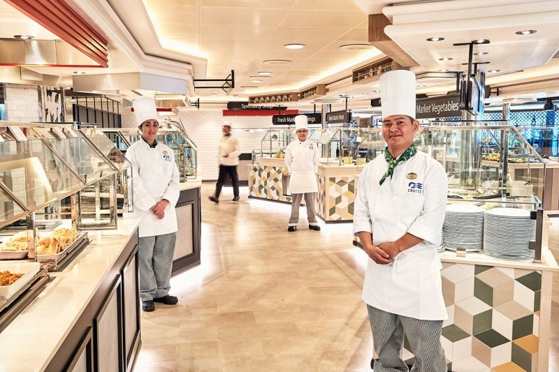 World Fresh Marketplace chefs