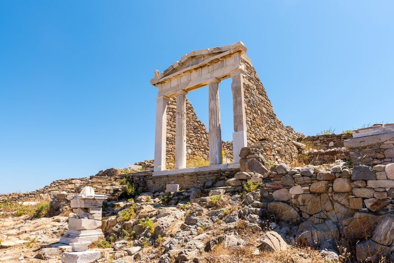 The remains of Delos