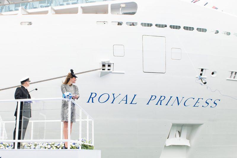 Kate Middleton at the godmother ceremony of Royal Princess