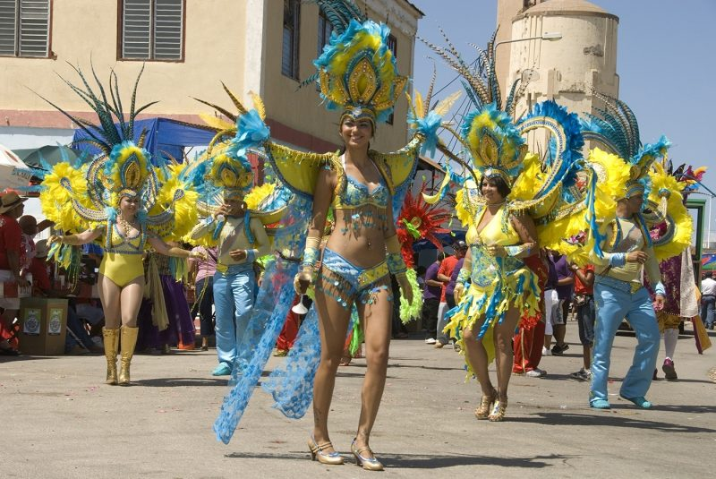 Aruba Festival dancers