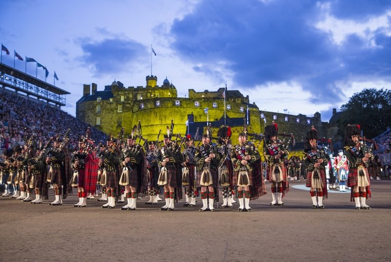Festivities at the Edinburgh Military Tattoo