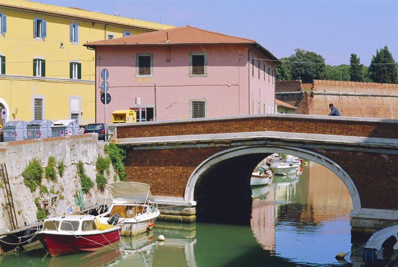 Quartier de la Nouvelle Venise, Livorno, Tuscany, Italy