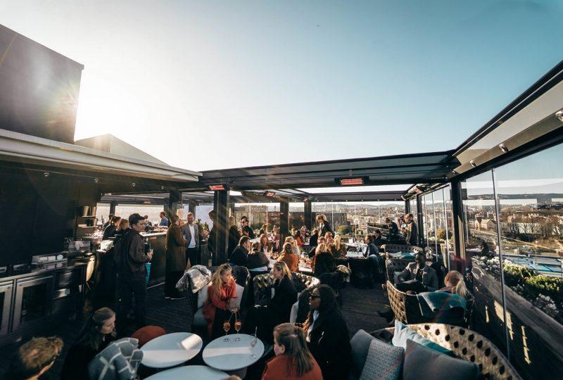 Thief Roof top bar, Oslo