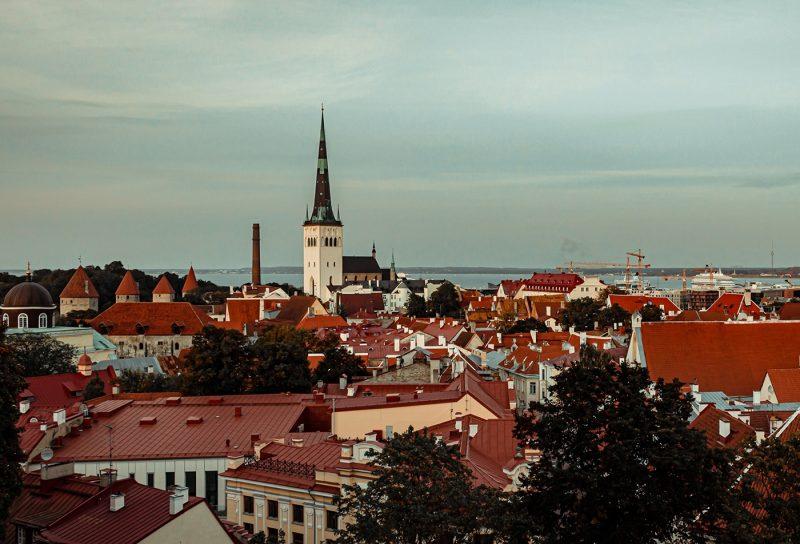 View of Tallinn rooftops