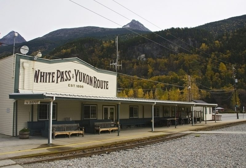 Skagway, White Pass, Gold Rush route