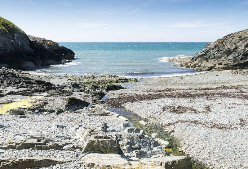 Borth Wen Beach, Wales
